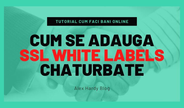 Cum se adauga SSL White Labels pe CB