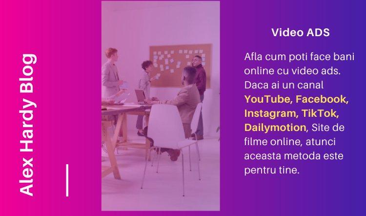 Cum iti poti mari veniturile pe youtube, dailymotion, facebook, instagram, tiktok