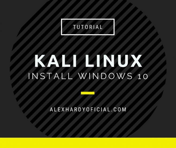 Cum instalezi Kali Linux pe Windows 10