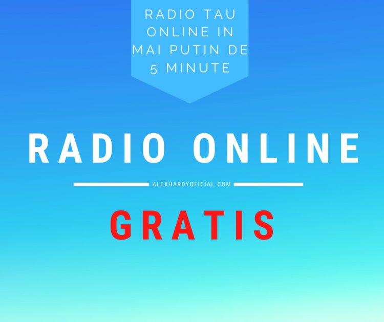 Radio online gratis cu peste 300 ascultatori simultan. Radio tau online in mai putin de 5 minute