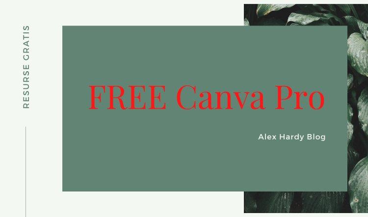 FREE Canva Pro
