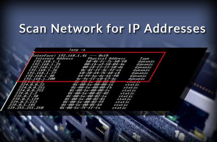 Cum vezi toate adresele IP conectate la serverul tau