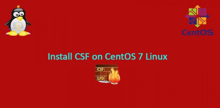 Cum instalezi CSF pe Centos 7